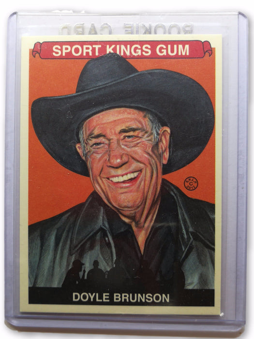 Doyle Brunson 2012 Sportkings Series E #246 Base Poker Trading Card