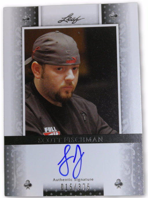 Scott Fischman 2011 Leaf Poker Clubs #BASF1 15 of 375