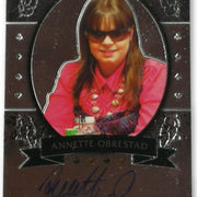 Annette Obrestad 2012 Leaf Poker Metal #MB-AO1 Poker Trading Card