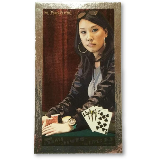 Evelyn Ng 2009 Upper Deck Goodwin Champions #105 Mini Foil /88 Poker Trading Card (Short Print)