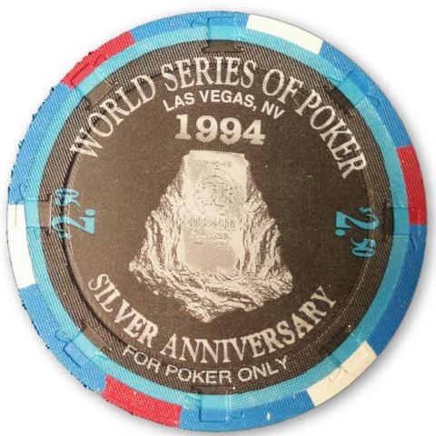 Sailor Roberts, 1994 Binions Horseshoe WSOP Gallery of Champions Poker Chip