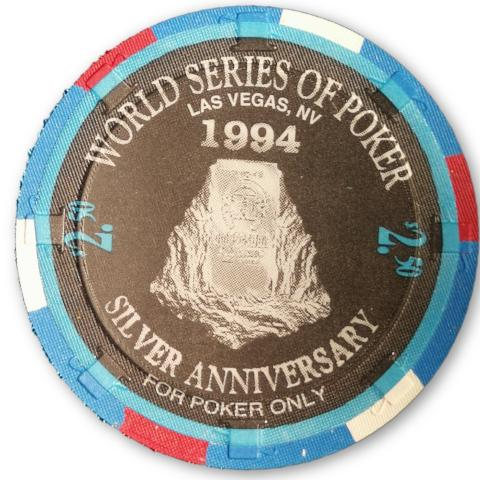 Benny Binion, 1994 Binions Horseshoe WSOP Gallery of Champions Poker Chip