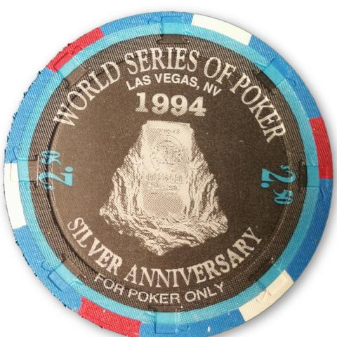 Jim Bechtel, 1994 Binions Horseshoe WSOP Gallery of Champions Poker Chip