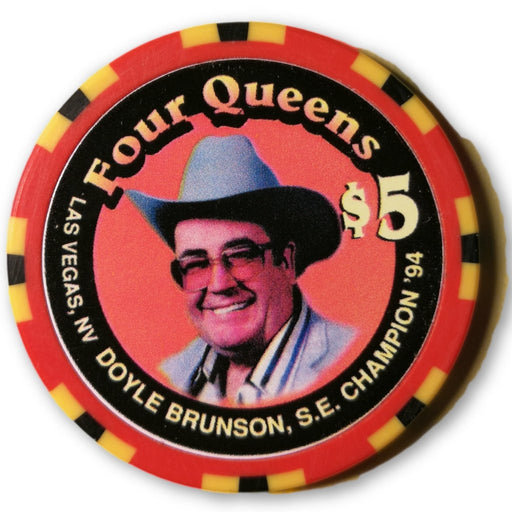 Doyle Brunson Four Queens 1996 Queens Poker Classic Poker Chip