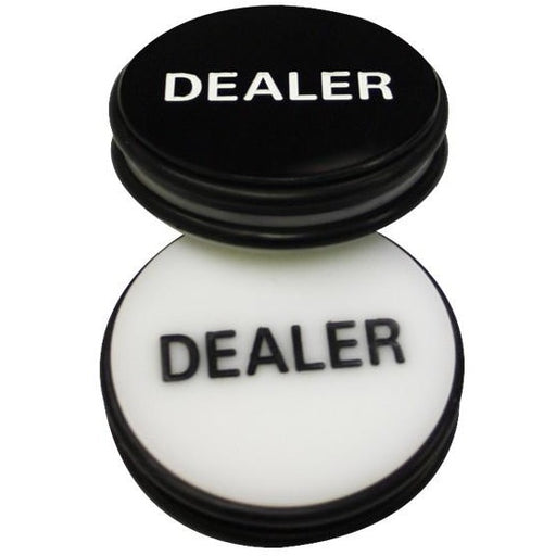 Dealer Button - 3 inch engraved 3.5 oz  Hold'em and Omaha Poker