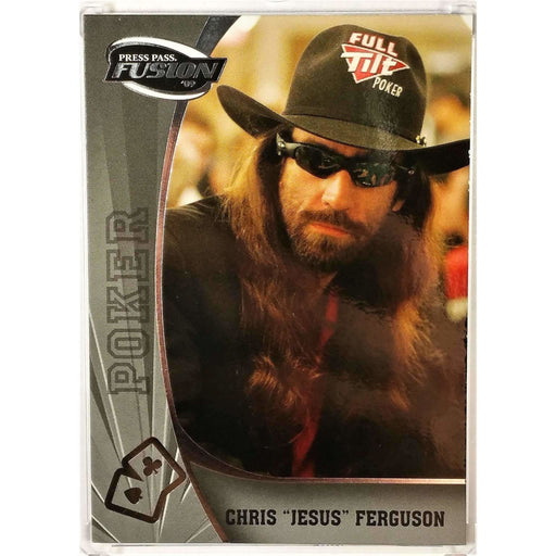 2009 Press Pass Wheels Main Event Fusion #78 Chris Ferguson Poker Trading Card