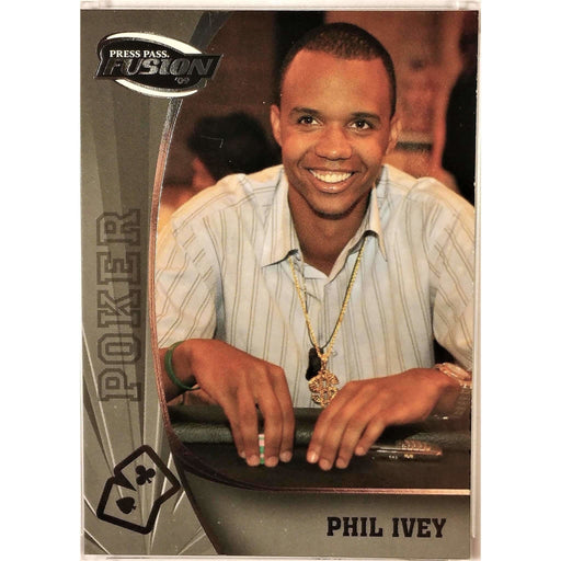2009 Press Pass Wheels Main Event Fusion #81 Phil Ivey Poker Trading Card