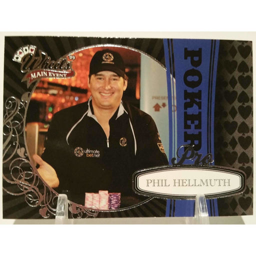2009 Press Pass Wheels Main Event #82 Phil Hellmuth Poker Trading Card