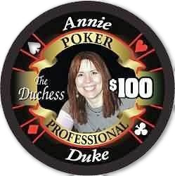 Annie Duke Limited Edition Poker Chip