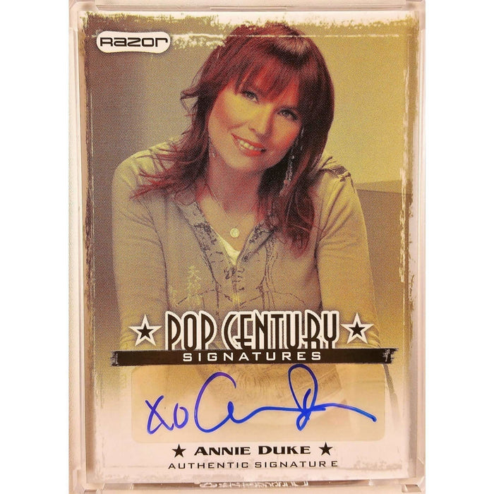 Annie Duke 2010 Pop Century #AD1 Autographed Poker Trading Card