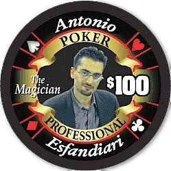 Antonio Esfandiari Limited Edition Poker Chip