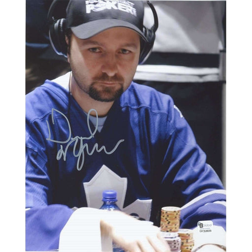 Daniel Negreanu Poker Pro Autographed 8X10 Photo GAI Certified 839
