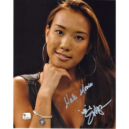 Evelyn Ng Poker Pro Autographed 8X10 Photo GAI Certified 850