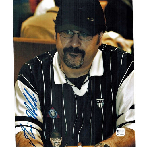 Amir Vahedi Poker Pro Autographed 8X10 Photo GAI Certified #879