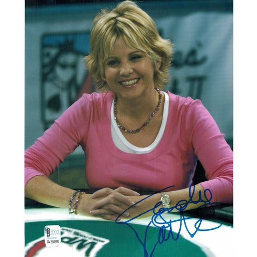 Cyndy Violette Poker Pro Autographed 8X10 Photo GAI Certified 880