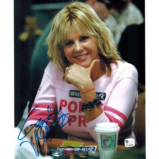 Cyndy Violette Poker Pro Autographed 8X10 Photo GAI Certified 881