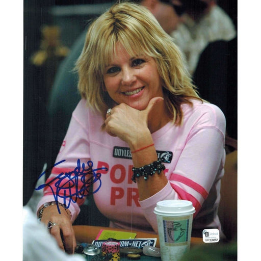 Cyndy Violette Poker Pro Autographed 8X10 Photo GAI Certified 882
