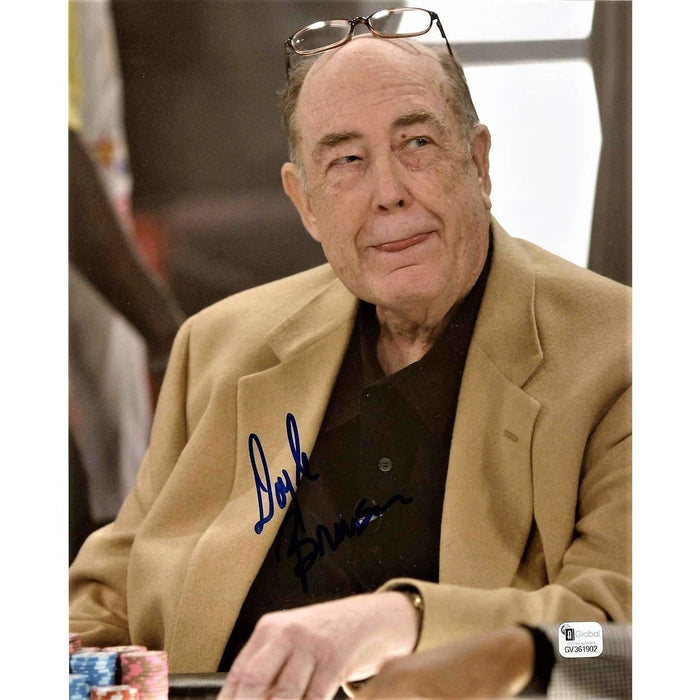 Doyle Brunson Poker Pro Autographed 8X10 Photo GAI Certified 902