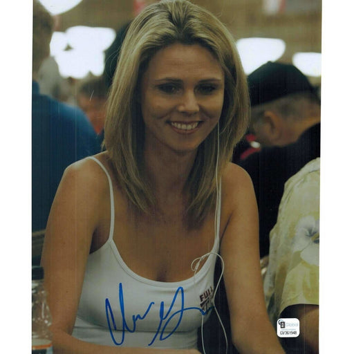 Clonie Gowen Poker Pro Autographed 8X10 Photo GAI Certified 948