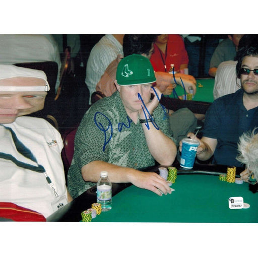 Dan Harrington Poker Pro Autographed 8X10 Photo GAI Certified 967