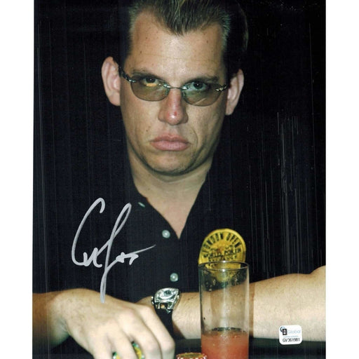 Chip Jett Poker Pro Autographed 8X10 Photo GAI Certified 981