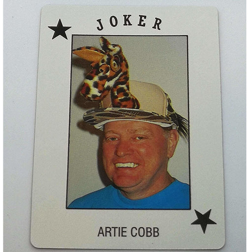 Artie Cobb Pro Deck Poker Pro Playing Card Joker