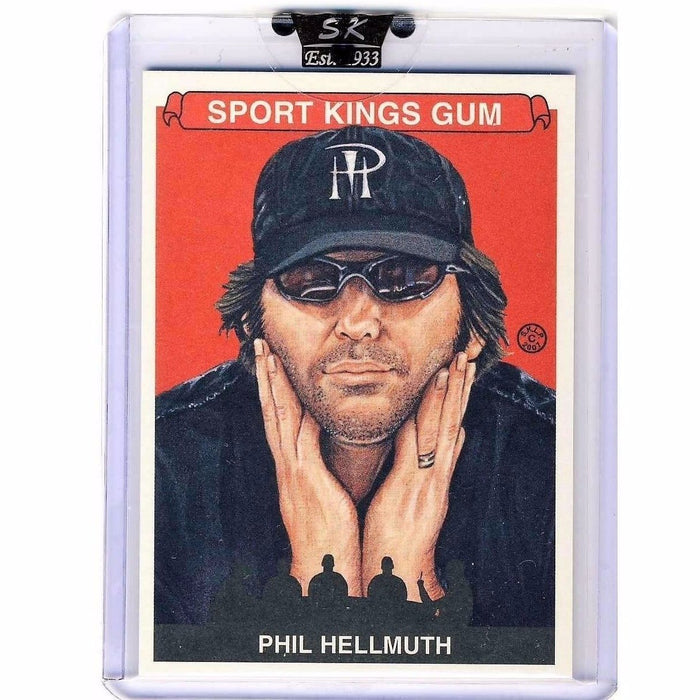 Phil Hellmuth 2007 Sportkings Series A #13 Base Poker Trading Card