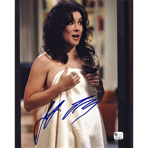 Jennifer Tilly Poker Pro Autographed 8X10 Photo GAI Certified 874