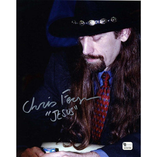 Chris Ferguson Poker Pro Autographed 8X10 Photo GAI Certified 930