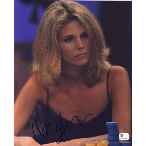 Clonie Gowen Poker Pro Autographed 8X10 Photo GAI Certified 947