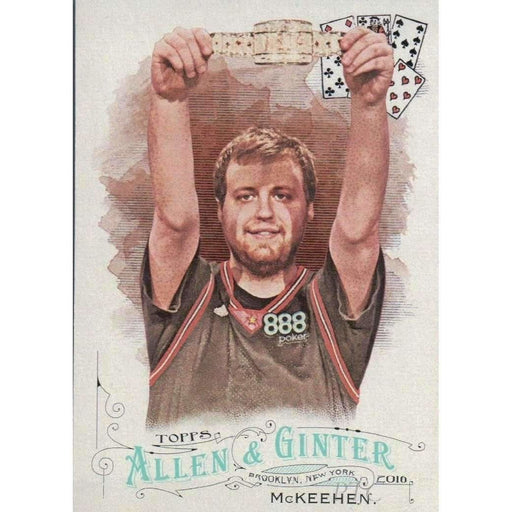 Joe McKeehen 2016 Topps Allen and Ginter #58 Poker Trading Card