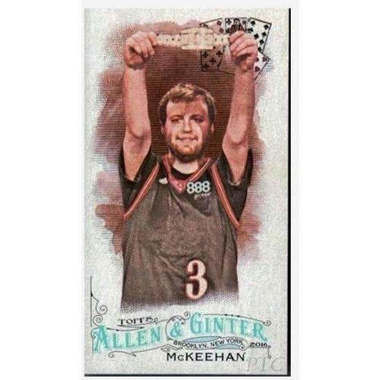 Joe McKeehen 2016 Topps Allen and Ginter Mini #58 Poker Trading Card