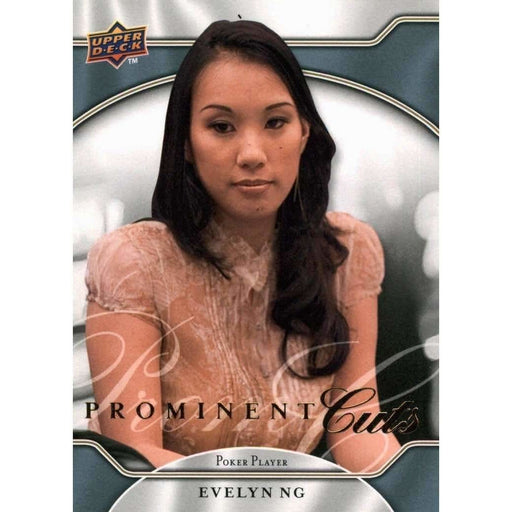 2009 UD Prominent Cuts Poker Trading Card #30 Evelyn Ng Poker Trading Card