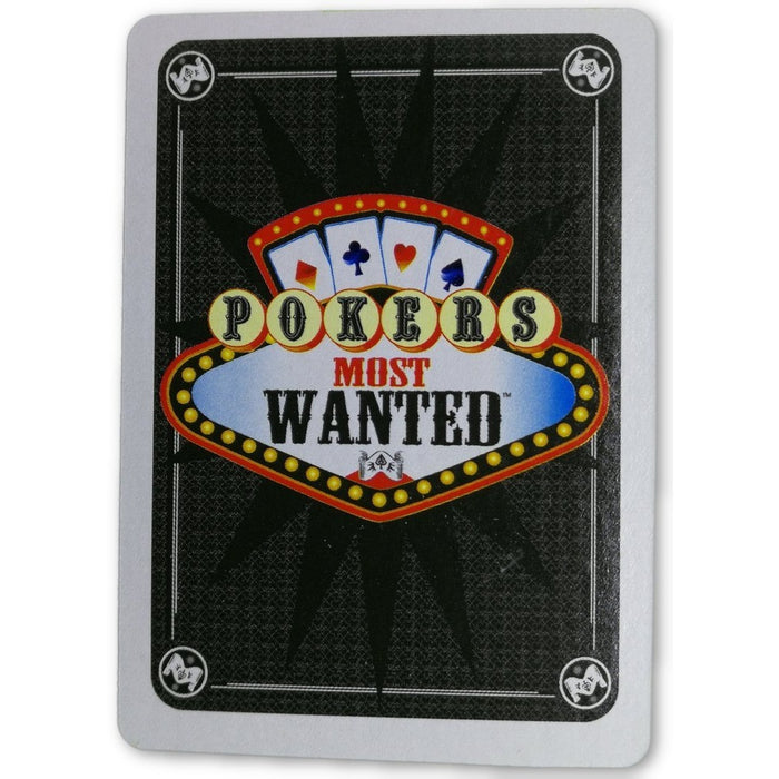 Layne Flack Pokers Most Wanted Poker Pro Playing Card 8 of Hearts
