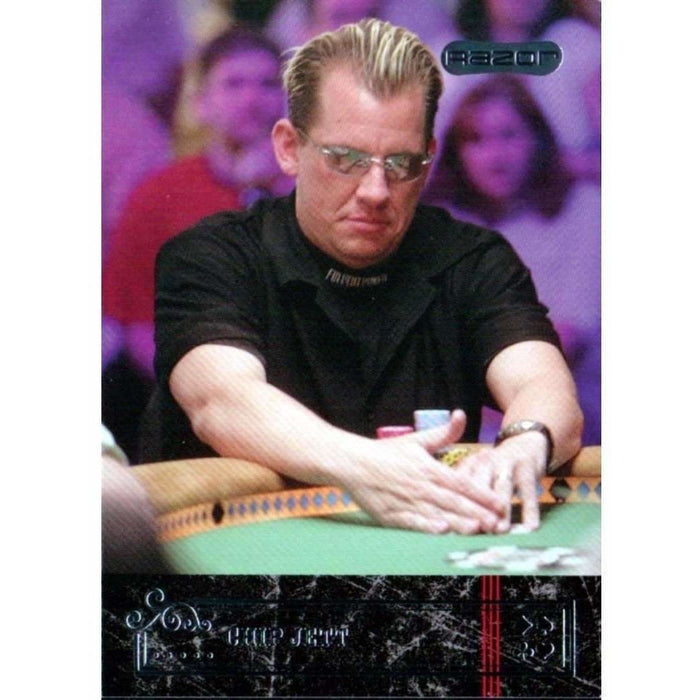 Chip Jett 2006 Razor Poker #18 Base Poker Trading Card