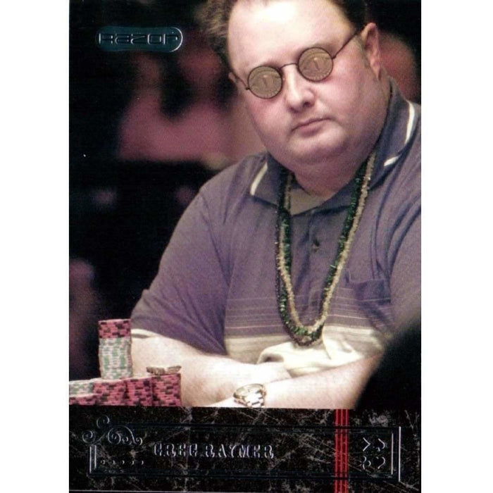 Greg Raymer 2006 Razor Poker #28 Base Poker Trading Card