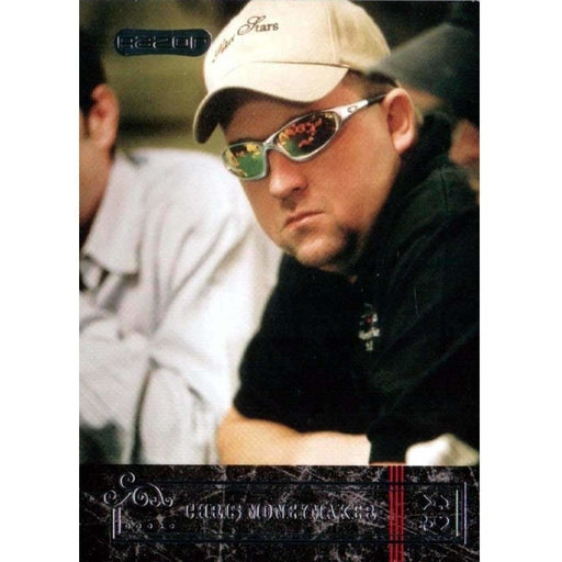 Chris Moneymaker 2006 Razor Poker #29 Base Poker Trading Card