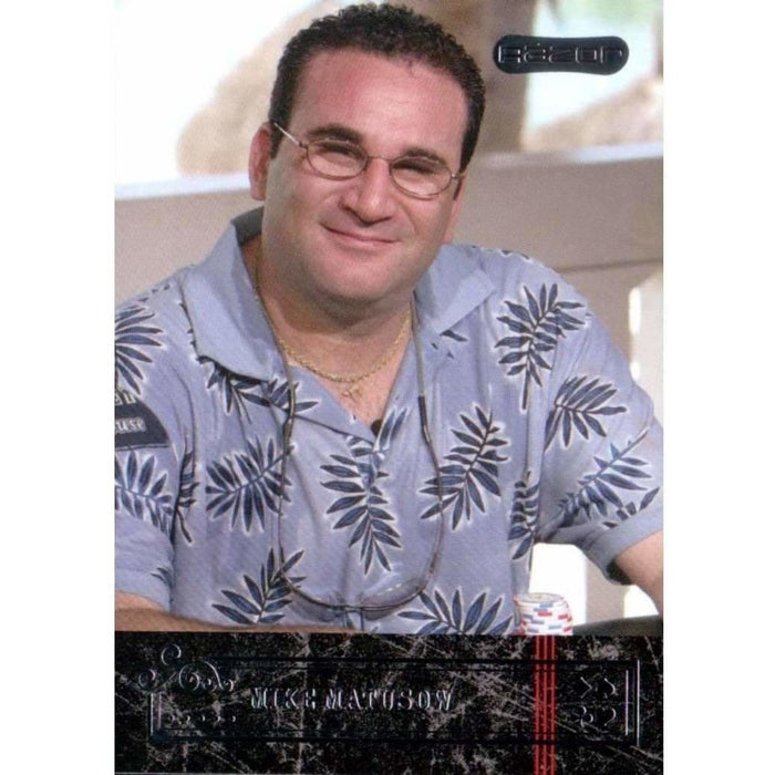 Mike Matusow 2006 Razor Poker #34 Base Poker Trading Card