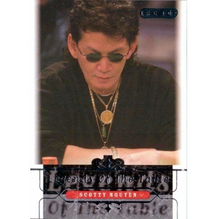 Scotty Nguyen 2006 Razor Poker #40 Legends Base Poker Trading Card