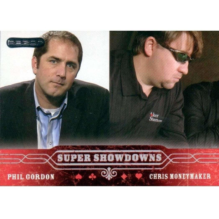 Phil Gordon/Moneymaker 2006 Razor Poker #46 Super Showdown Base Poker Trading Card