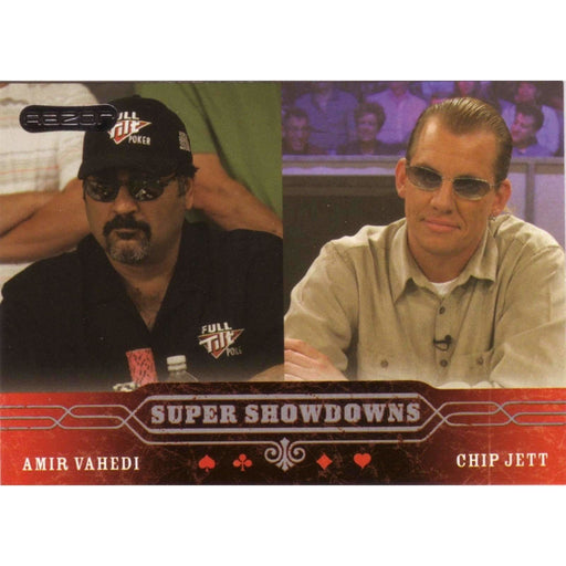 Amir Vahedi/Jett 2006 Razor Poker #57 Super Showdown Base Poker Trading Card