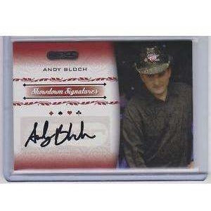 Andy Bloch 2007 Razor Poker #SS2 Poker Trading Card