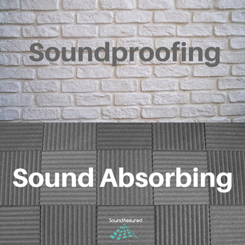 Soundproofing And Sound Absorbing - Understanding The Difference In Simplest Terms