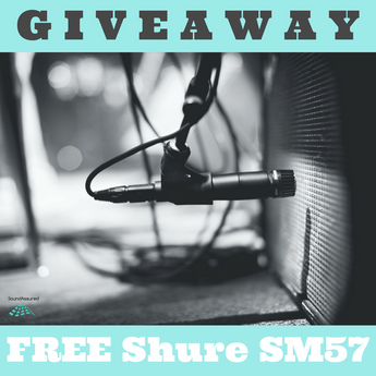 Free Shure SM57 Giveaway - Enter To Win Our Contest!