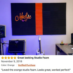 soundproofing acoustic foam panels customer review which is the best