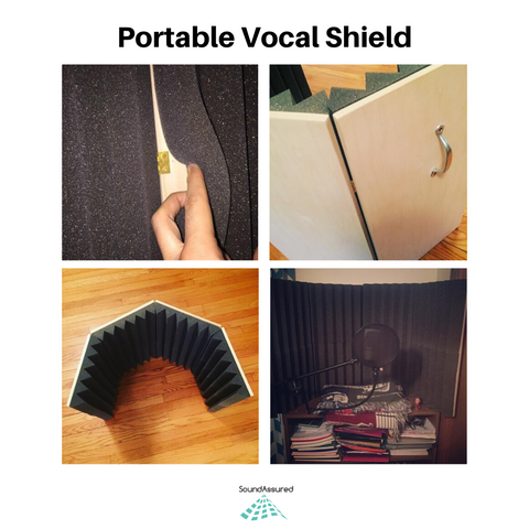 portable vocal shield plans