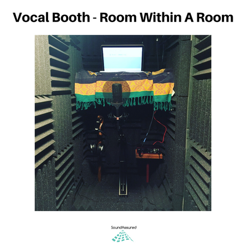 room within a room vocal booth example