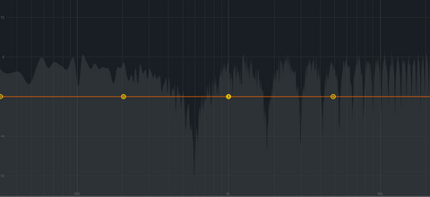 white noise with delay - comb filter example