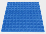 1 Inch Acoustic Foam Pyramid Style Panels - 13 Colors
