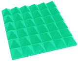 2 Inch Acoustic Foam Pyramid Style Panels - 13 Colors